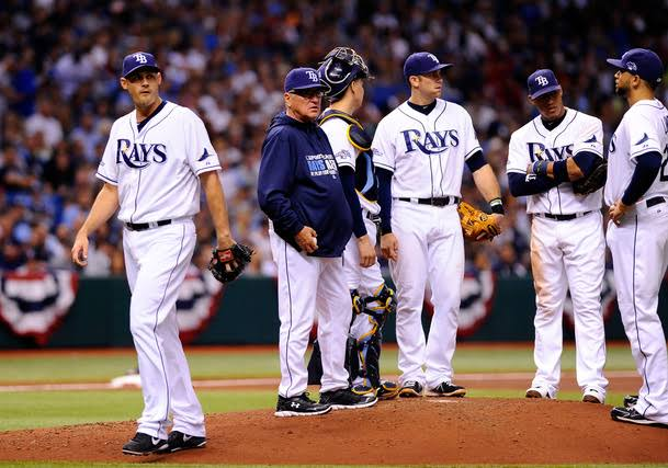 """Image result for Joe Maddon and the Rays Look to Overcome the Letdown of Manny Ramirez Retiring"""""""