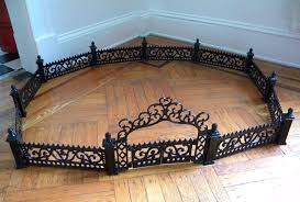 Heavy Dollhouse Wrought Iron Fence Gate Metal Garden Miniature Victorian Doll 1758977853