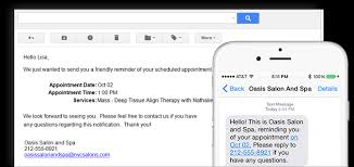 appointment scheduling software salon iris