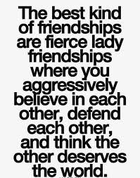friendship quotes i m aggressive in my belief support of