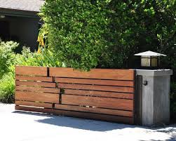 Horizontal Slat Fence Design Ideas Pictures Remodel And Decor Garden Gate Design House Fence Design Wooden Gate Designs