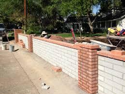 Block Wall Fence Progressive Fence Corp