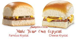 krystal burger copycat recipe