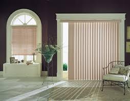 sliding door blinds for sophisticated
