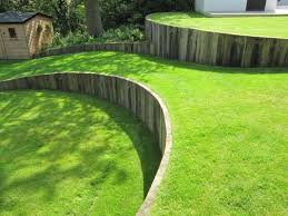 terracing and leveling a sloping garden