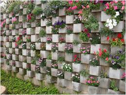 decorate with a vertical garden
