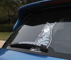 Hilarious Mocking Car Stickers T Rex Car Decal