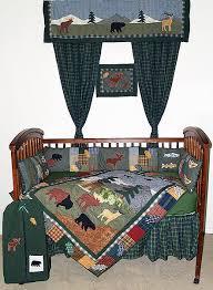 northwoods walk crib bedding sets