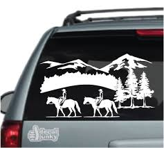 Quarter Horse Decals Stickers Decal Junky
