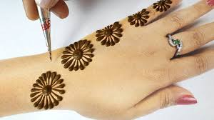 mehndi ke design back