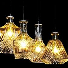 mosaic glass hanging lamp pendant