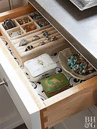 how to organize jewelry better homes