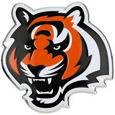 Cincinnati Bengals Color Emblem 3 Car Team Decal