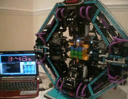 lego rubiks cube solver cubestormer