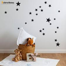 Diy Stars Wall Decal Baby Kid Room Stickers Home Decoration Art Baby Room Wall Stickers Baby Dec Baby Room Wall Stickers Star Wall Decals Nursery Wall Stickers