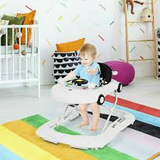 Baby Walker 2in1 Foldable With Music Player Lights Kids Boys Girls 726085001922 Ebay