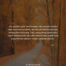quotes by pristifiona tap² x❤ go follow rindu sepihak cek