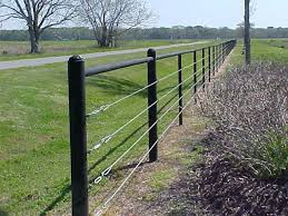 Black Cattle Fence Could Also Work With Lodgepoles Painted Black Farm Fence Fence Landscaping Garden Fencing