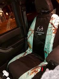 realtree apc mint camo low back seat