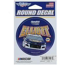 Chase Elliott Wincraft 3 Round Decal