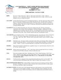 Fillable Online (scm) swim meet ada cooper miller natatorium east woods  school ... Fax Email Print - PDFfiller