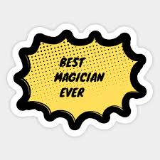 magician cool sticker teepublic au