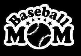 Baseball Mom Decal Car Truck Bumper Window Sticker Free Shipping 2 99 Picclick