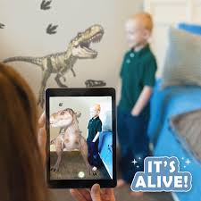 T Rex Dinosaur Augmented Reality Wall Decal Wall Palz