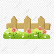 Spring Green Grass Small Flower Fence Illustration Spring Green Floral Png Transparent Clipart Image And Psd File For Free Download