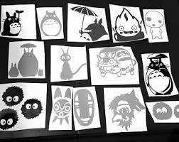 Studio Ghibli Decal Etsy