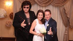 """Adam Owens on Twitter: """"After 10 years of marriage, Elvis helped us renew  our vows in my wife's hometown of Las Vegas. #WRAL @lynnowens… """""""