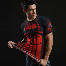 dri fit superhero spiderman pression