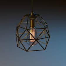 ikea brunsta lamp 3d model cgtrader