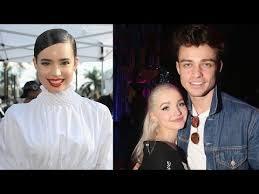 Sofia Carson Dishes on Co-Stars Dove Cameron & Thomas Doherty's ...
