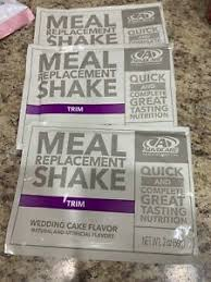 advocare meal replacement shake trim