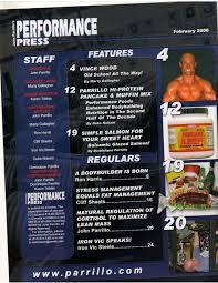 PERFORMANCE PRESS muscle bodybuilding magazine/booklet/VINCE WOOD 2-06 |  eBay