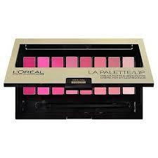 loreal colour riche la palette lipstick