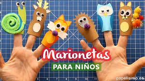 Como Hacer Marionetas De Dedo Para Ninos Papelisimo