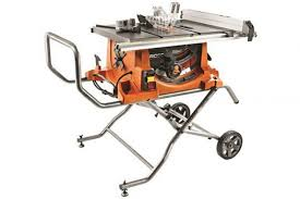 Ridgid R4513 Heavy Duty Portable Table Saw With Stand Review Best Saw Shop
