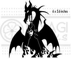 Maleficent Dragon Sleeping Beauty Disney Vinyl Decal Sticker Maleficent Dragon Maleficent Disney Sleeping Beauty