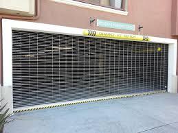 Model Sg700 Security Aluminum Grill Roll Up Door Lux Garage Doors