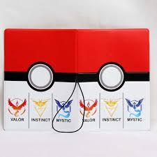 ALIEME Hộ Chiếu Bìa 3D Phim Hoạt Hình Pokemon Đi PVC Da Bản Sắc ID Credit  Card Bìa Tài Liệu Thư Mục Du Lịch Vé 14*9 - Aliexpress