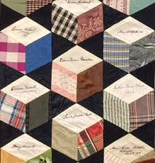 Civil War Quilts: Autograph Quilt Godey's Lady's Book 1864 ...