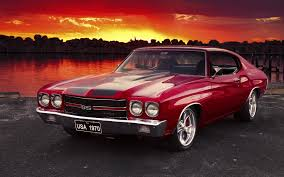 cars chevrolet chevelle ss chevy