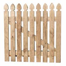 Motueka Pickets Picket Gate Gothic Profile Top Fencing Timber Mitre 10
