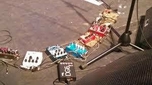 Low, Glasgow 29/01/19 - Alan Sparhawk's pedals - Imgur