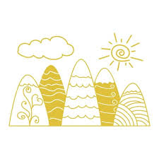 Shop Mountain Decal Kids Mountains Nursery Wall Decal Overstock 32025841