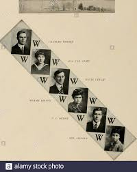 Murmurmontis: [Yearbook] 1918 . CECILE WEST DELPHIA MAXWELL eighty-seven.  MAYME BROWN C. C. DURST eighty-eight JAY ROHRBOlGH ELIZABETH SINE PAUL  DAVIS Stock Photo - Alamy