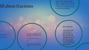 All about fractions by Ava Griffin