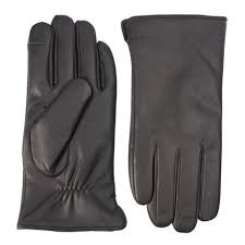 nicci men s touch screen leather glove